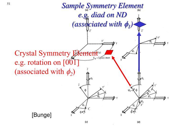 Sample Symmetry Element