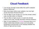 cloud feedback1