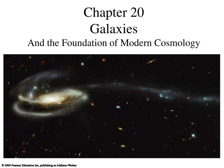 chapter 20 galaxies and the foundation of modern cosmology n.