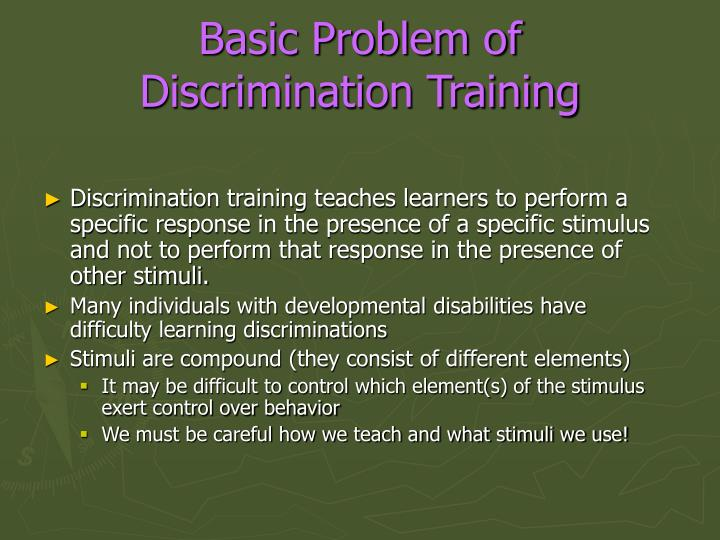an analysis of the issue of discrimination in the schools Historical progression of the issues that have been resolved by parents and schools in the courts in the united states so that discrimination may be reduced and learning outcomes maximized for students with disabilities.