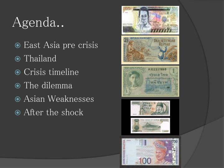 the reasons behind the asian financial crisis Many are worried that the current crisis may be more severe than the 1997 asian financial crisis in which malaysia was badly hit during the asian financial crisis, the full impact of it came in 1998, when the malaysian economy deteriorated 75% in 1998.