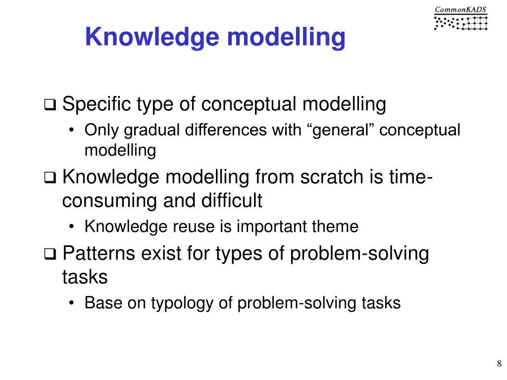 Knowledge modelling