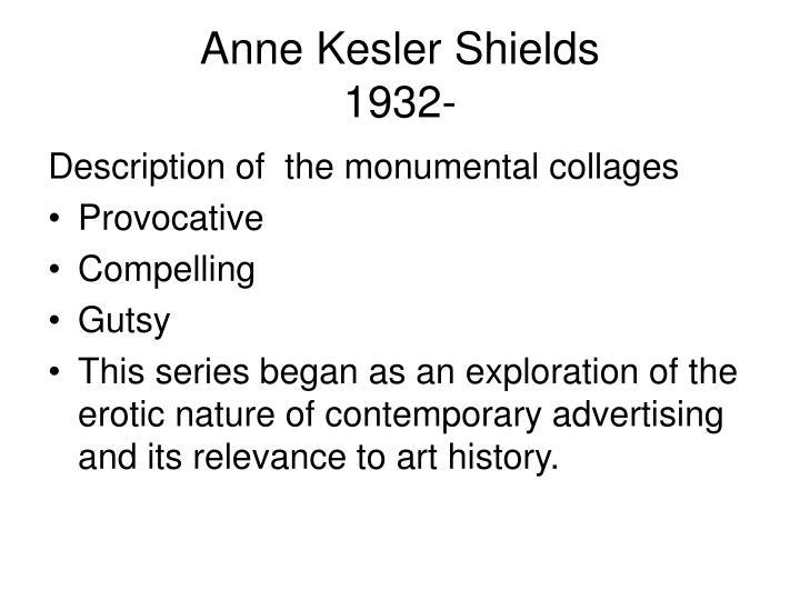 Anne Kesler Shields