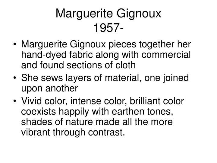 Marguerite Gignoux