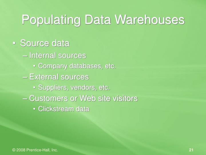 Source data