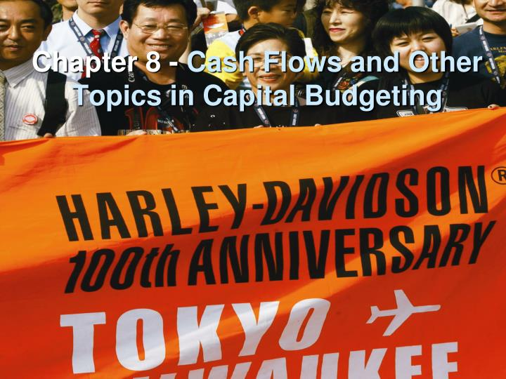 chapter 8 cash flows and other topics in capital budgeting n.