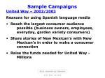 sample campaigns14