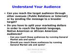 understand your audience7