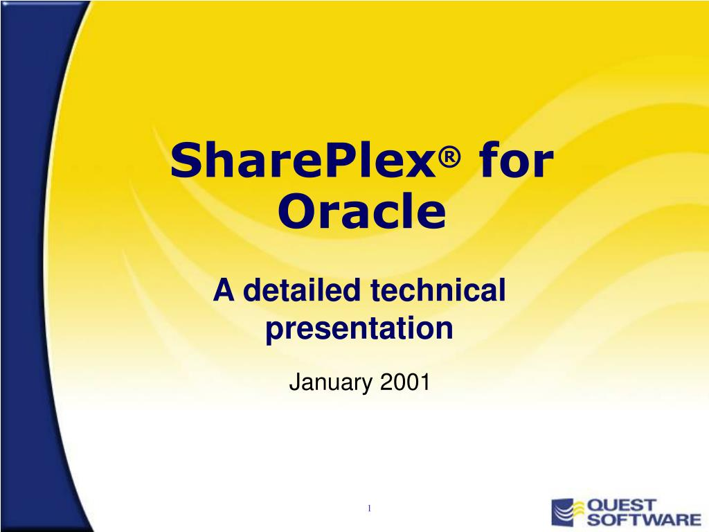 shareplex for oracle