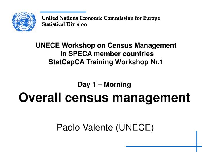 day 1 morning overall census management n.