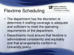 flextime scheduling1