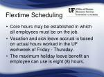 flextime scheduling2