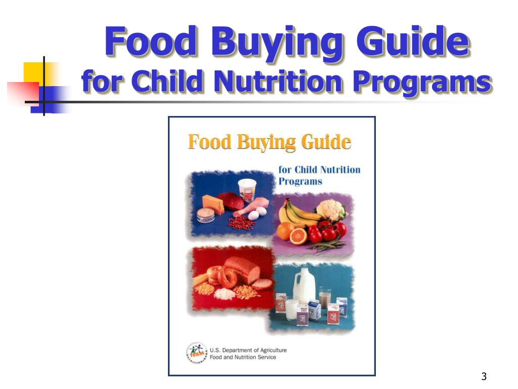 Guide for Good Child Nutrition