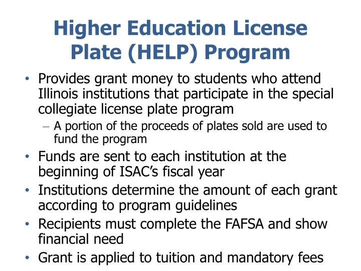 Higher Education License