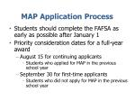 map application process