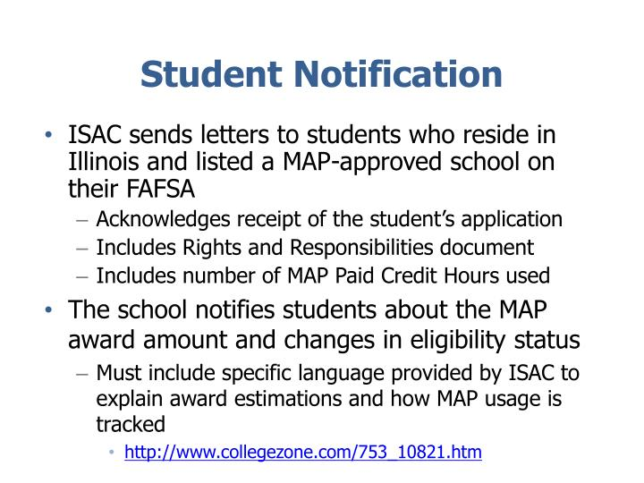 Student Notification