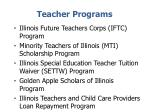teacher programs