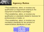 agency rules10