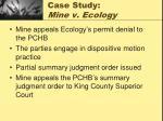 case study mine v ecology25