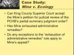 case study mine v ecology26