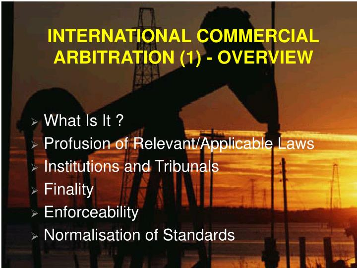international commercial arbitration 2 essay Continue reading international commercial arbitration  way connected with this agreement shall be submitted to arbitration with the international chamber  essay to the module leader by e-mail and (2.