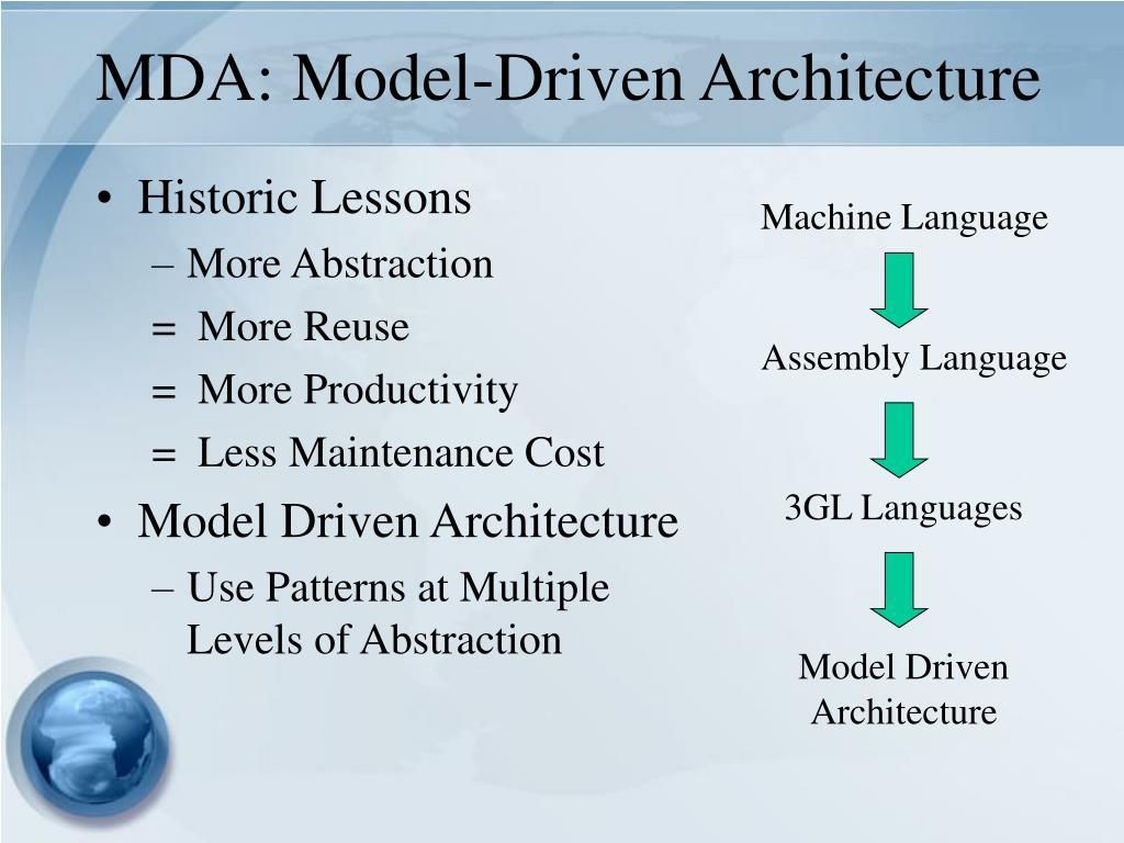 MDA: Model-Driven Architecture