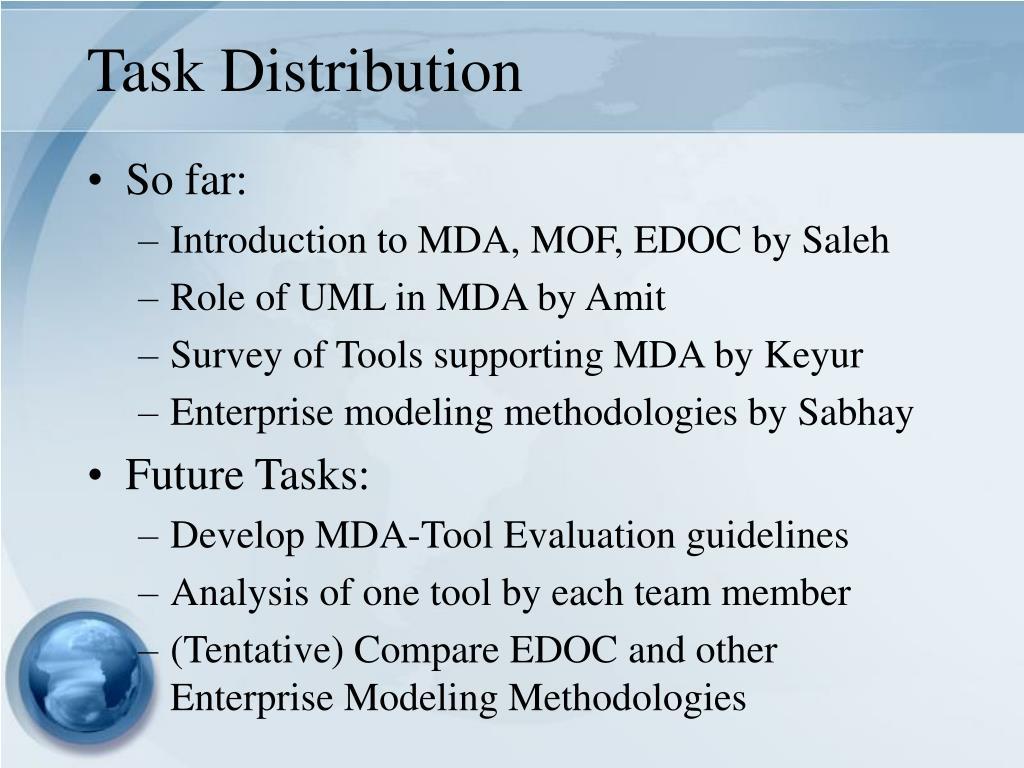 Task Distribution
