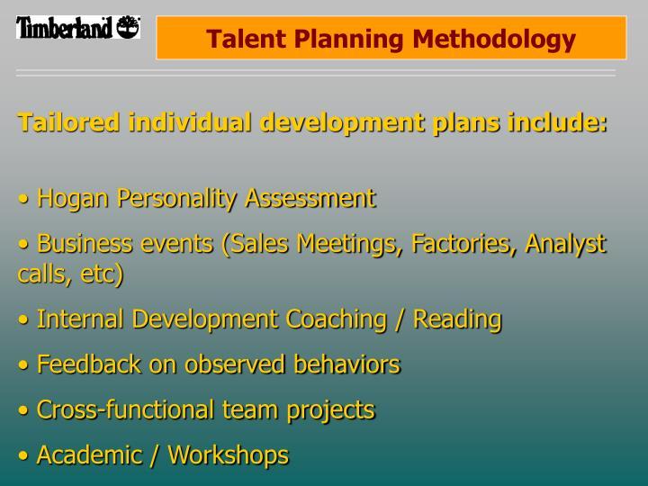 Talent Planning Methodology