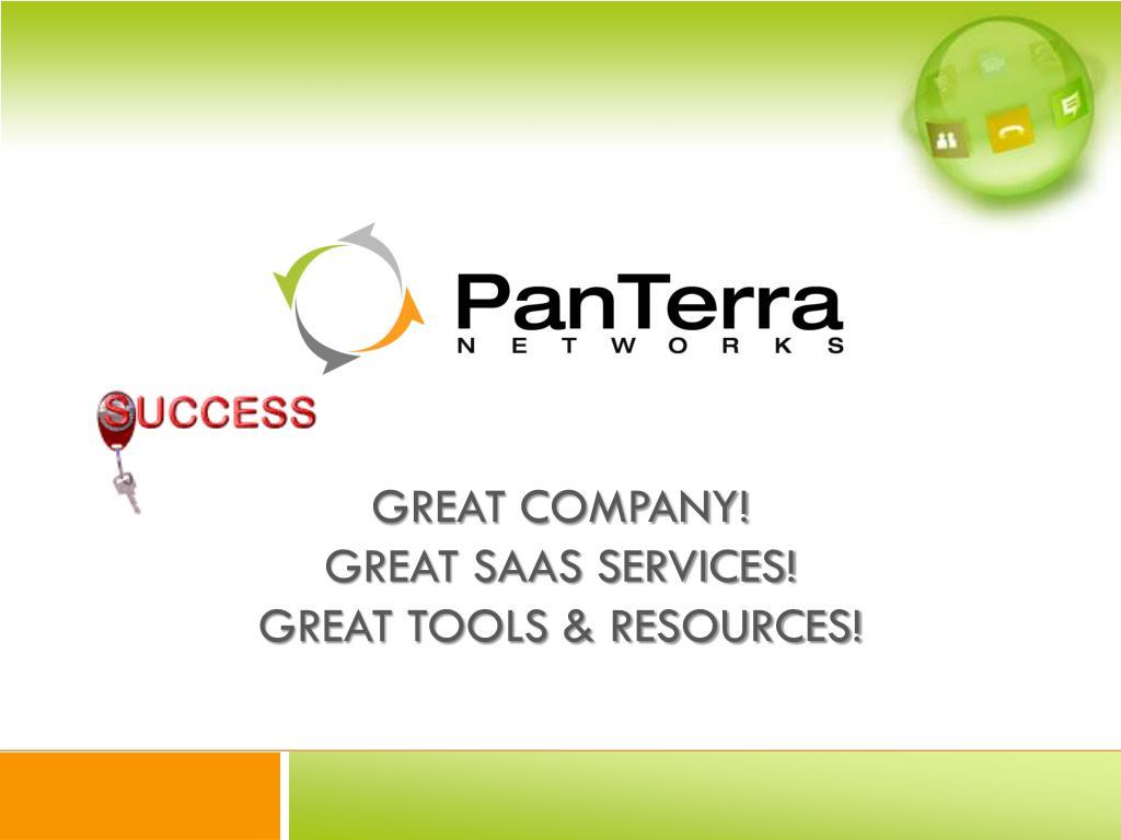 Great Company!