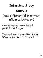 interview study28