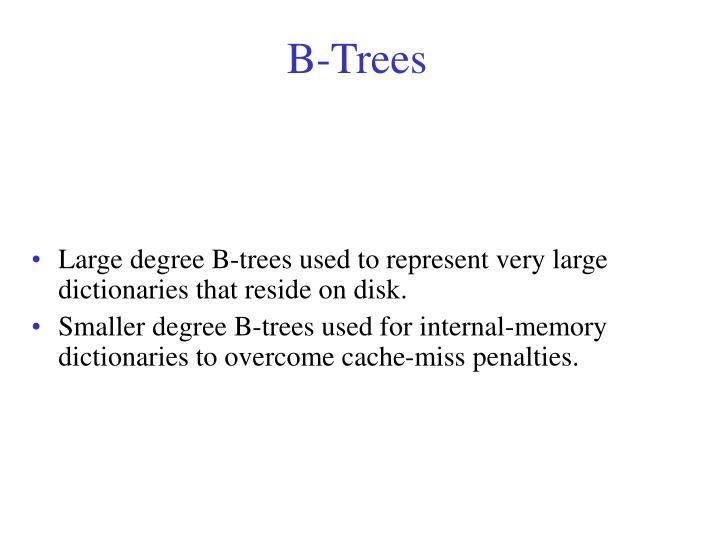 b trees n.