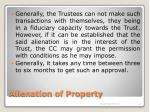 alienation of property11