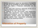 alienation of property13