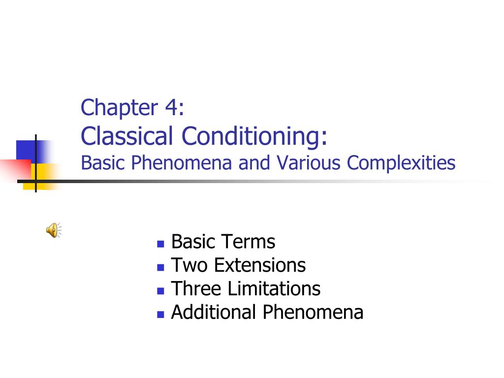 limitations to classic conditioning as a Christopher, kylie, kimberly, and jenna's cartoon that teaches about classical and operant conditioning for psychology created using.