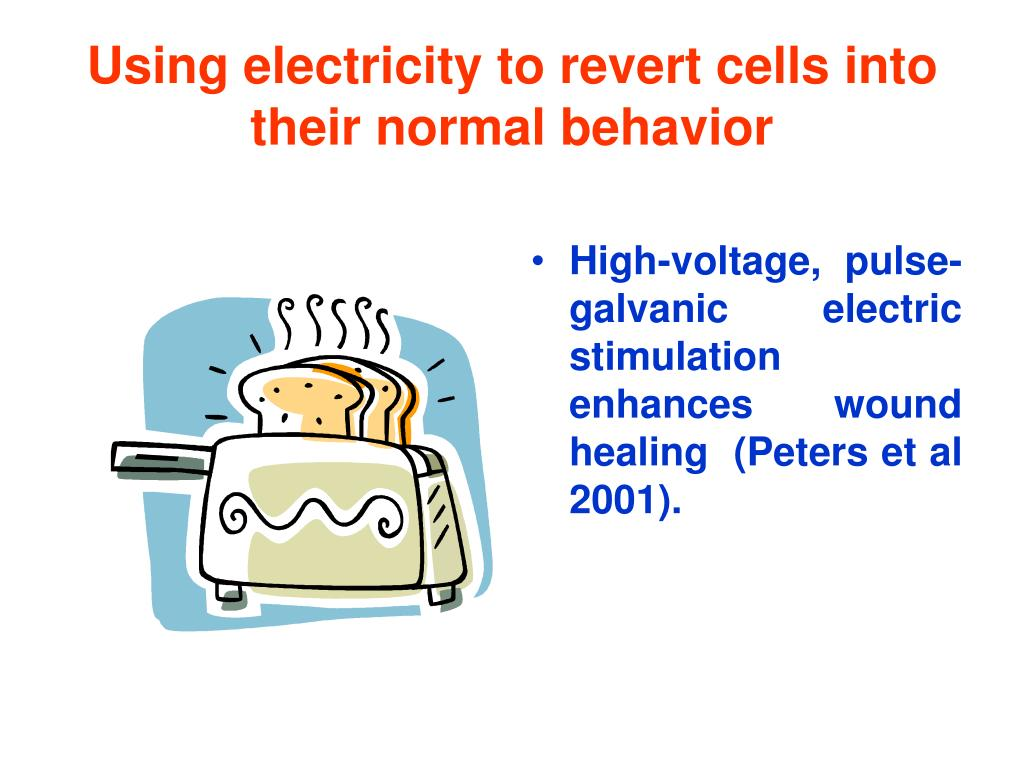 Using electricity to revert cells into their normal behavior