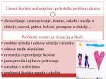 uzroci kolske nediscipline p siholo ki problemi djeteta