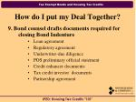 how do i put my deal together29