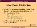 other effects eligible basis