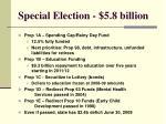 special election 5 8 billion