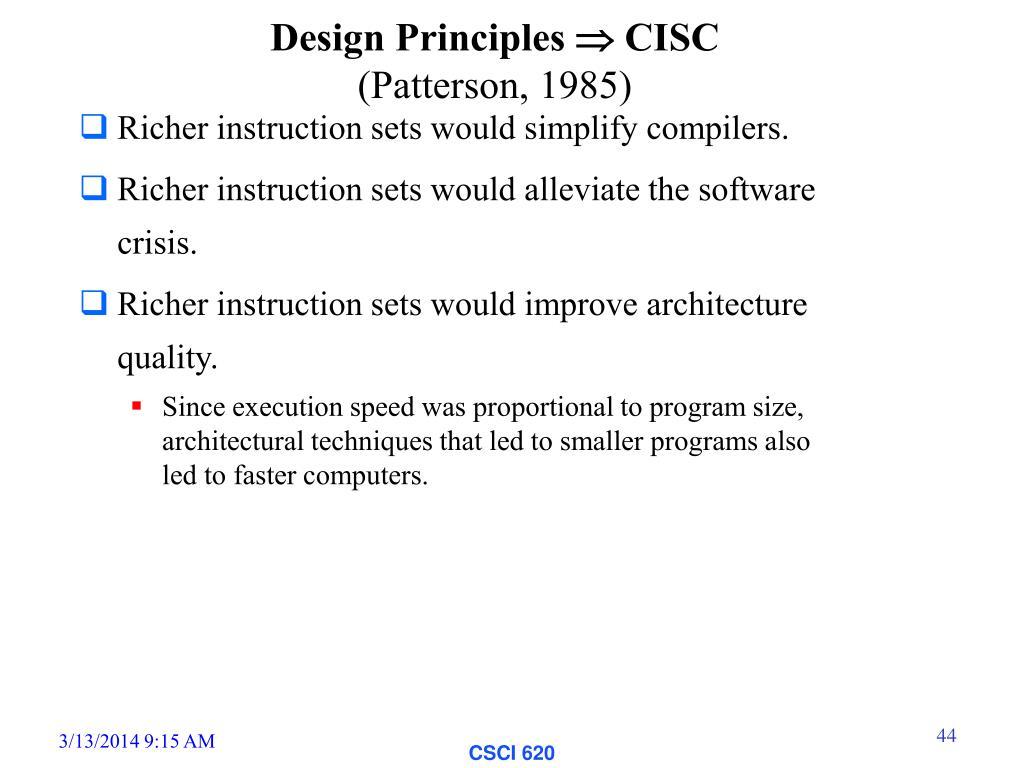 Ppt Instruction Set Principles Examples Appendix B Powerpoint Presentation Id 468688