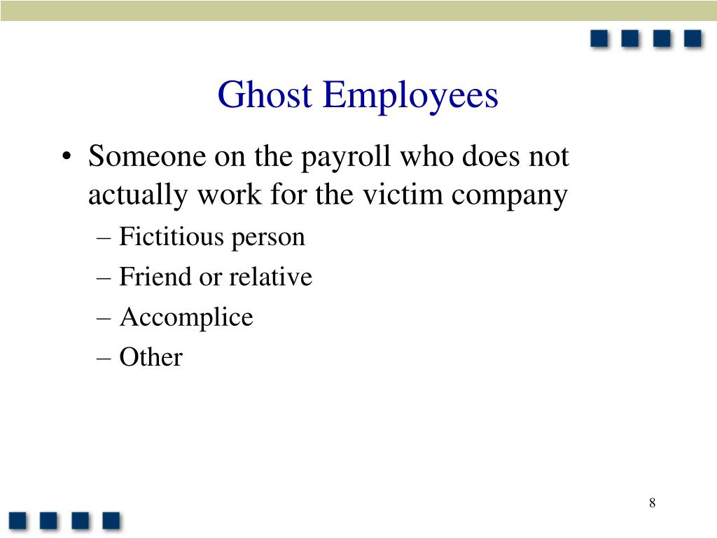 Ghost Employees