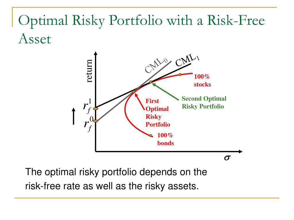 Optimal Risky Portfolio with a Risk-Free Asset