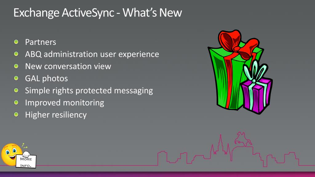 Exchange ActiveSync - What's New