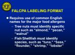 falcpa labeling format2