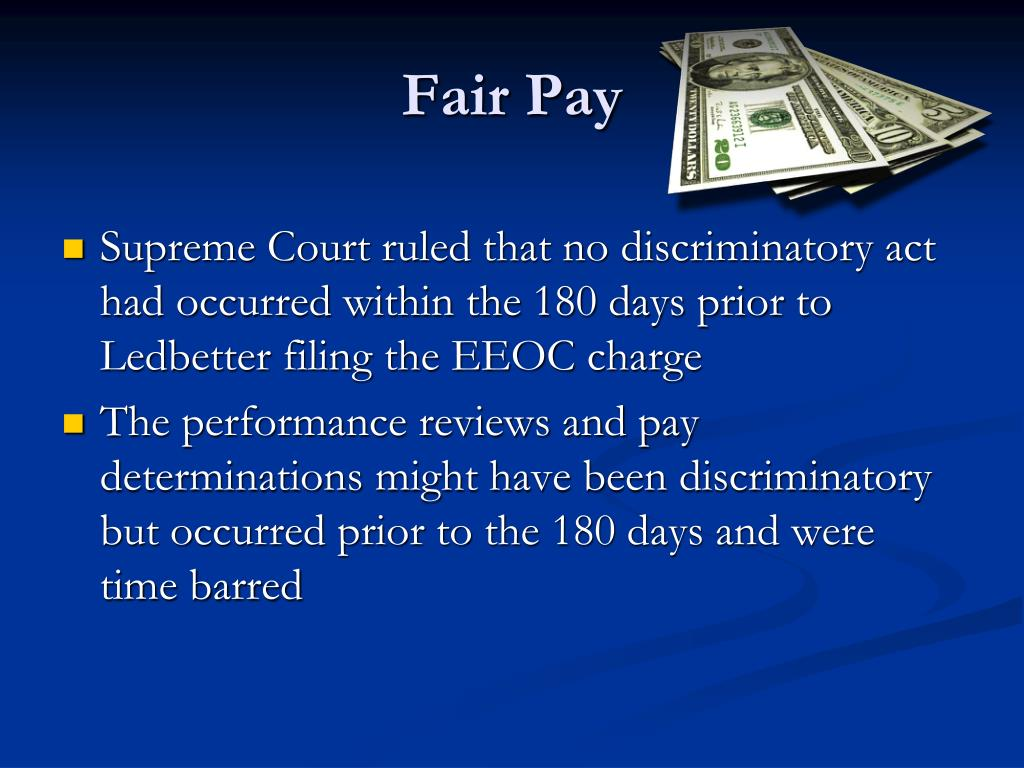 Fair Pay