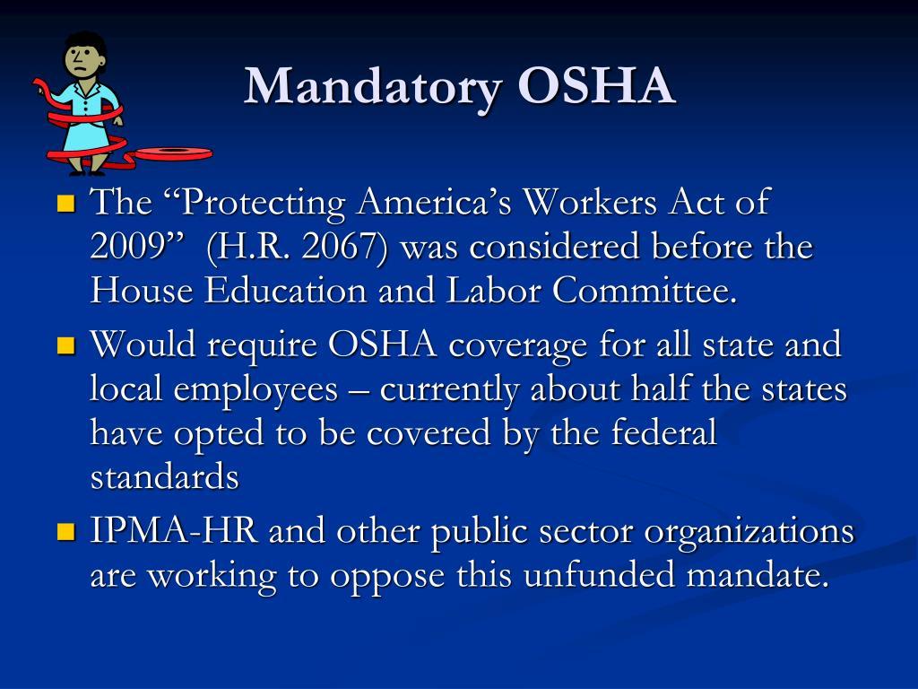 Mandatory OSHA