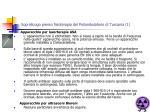 sopralluogo presso fisioterapia del poliambulatorio di tuscania 1