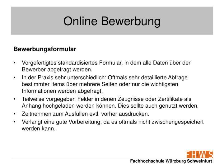 PPT - Bewerbungsunterlagen PowerPoint Presentation - ID:469192