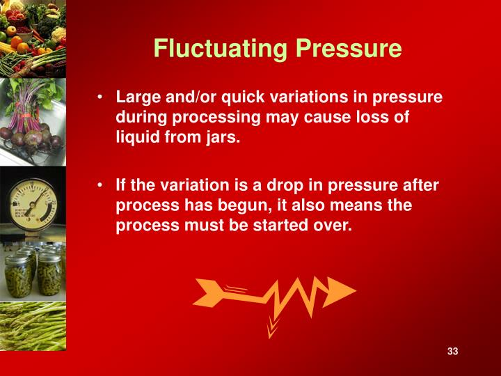 Fluctuating Pressure