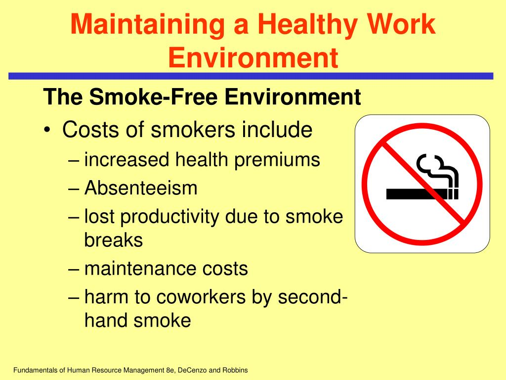 maintaining a healthy and safe working Getting started with workplace health and safety e providing and maintaining safe plant and systems of work getting started with workplace health and safety 5.